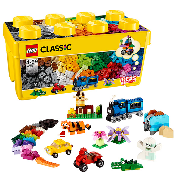 LEGO Classic 10696 Конструктор ЛЕГО Классик Набор для творчества среднего размера lego конструктор классик набор для творчества 10692 от 4 лет