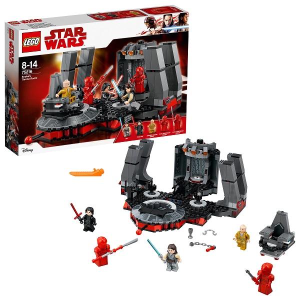 LEGO Star Wars 75216 Конструктор Лего Звездные Войны Тронный зал Сноука