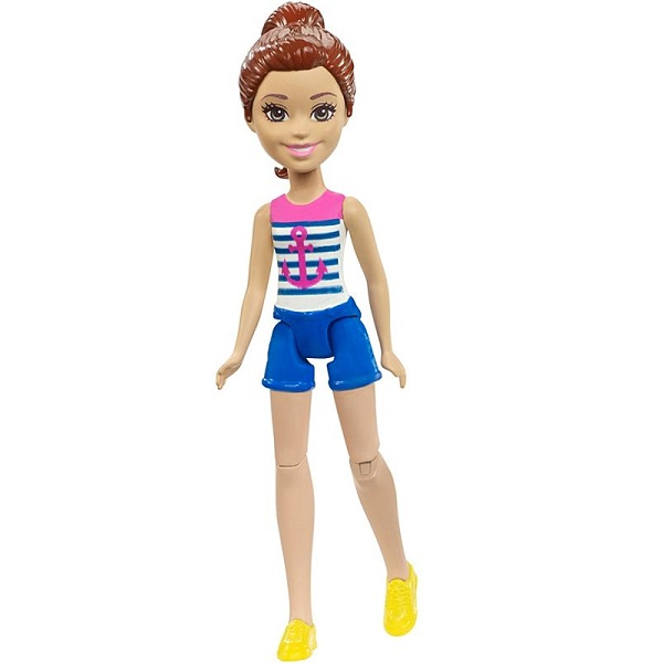 Mattel Barbie FHV58 Барби Кукла В движении Sailor mattel barbie fhv62 барби в движении пони и кукла