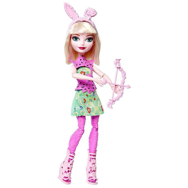 Mattel Ever After High DVH81 Куклы-лучницы Банни Бланк mattel ever after high bbd44 чериз худ