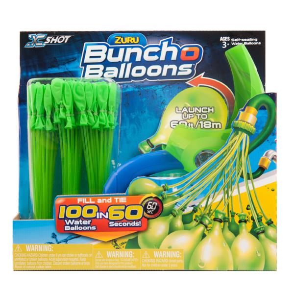 Bunch O Balloons Z1241 Продвинутый набор: 100 шаров с пусковым устройством