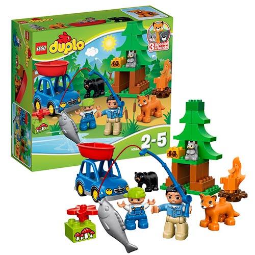 Lego Duplo 10583 Конструктор Рыбалка в лесу