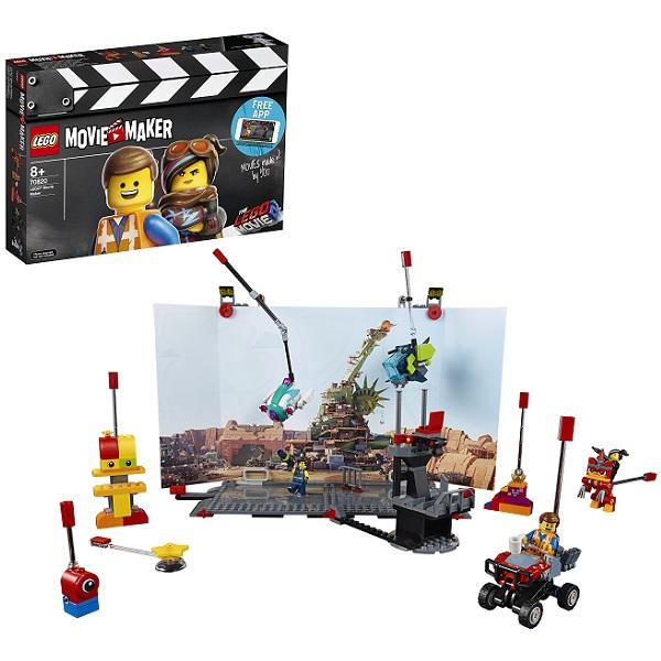 LEGO Movie 2 70820 Конструктор ЛЕГО Фильм 2 Набор кинорежиссёра LEGO детское лего sluban airbus lego b0366