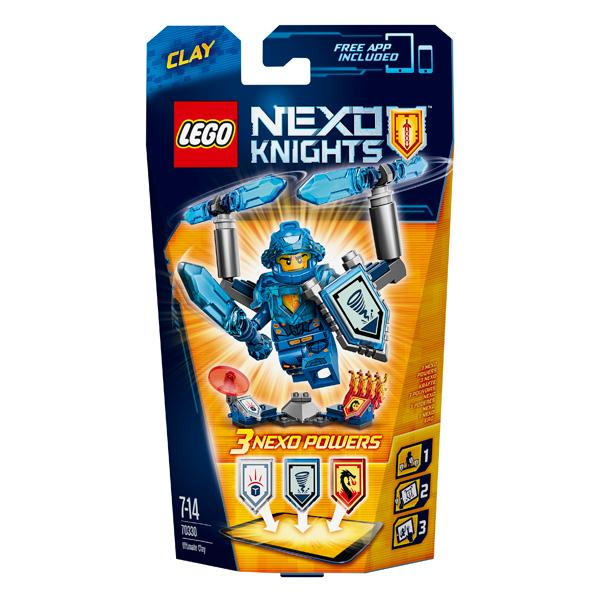 Lego Nexo Knights 70330 Конструктор Лего Нексо Клэй – Абсолютная сила