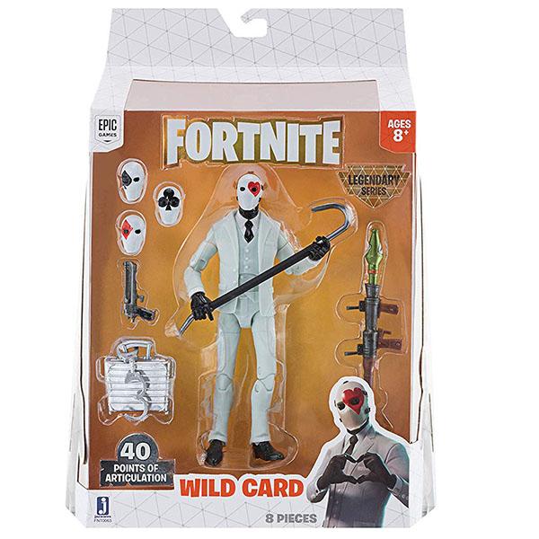Fortnite FNT0063 Фигурка Wild Card с аксессуарами