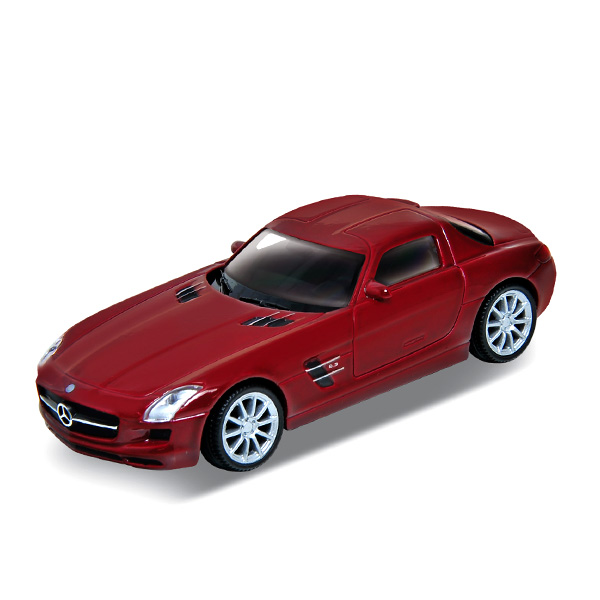 Welly 43627 Велли Модель машины 1:34-39 Mercedes-Benz SLS AMG машина welly mercedes benz amg gt 43705