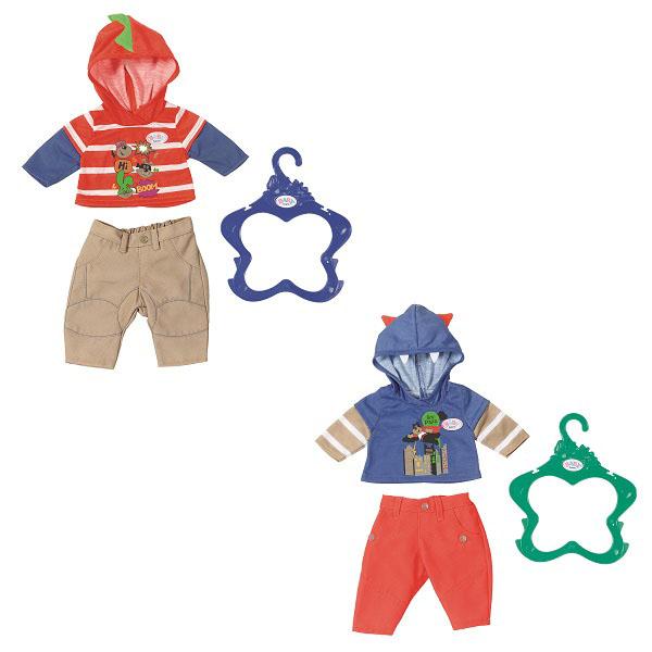 Zapf Creation Baby born 824-535 Бэби Борн Одежда для мальчика куклы и одежда для кукол zapf creation baby born халат с капюшоном