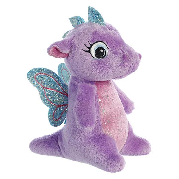 Фото - Aurora 170776H Аврора Дракончик фиолетовый, 16 см мягкие игрушки spiegelburg дракончик mira 30 см