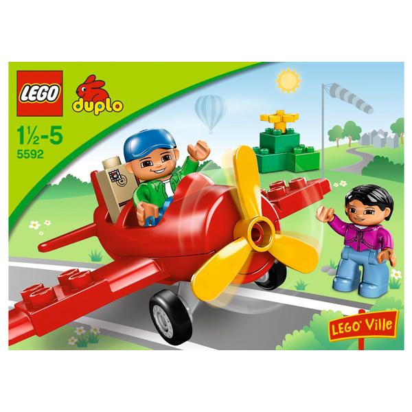 Lego Duplo 5592 Конструктор Мой первый самолёт