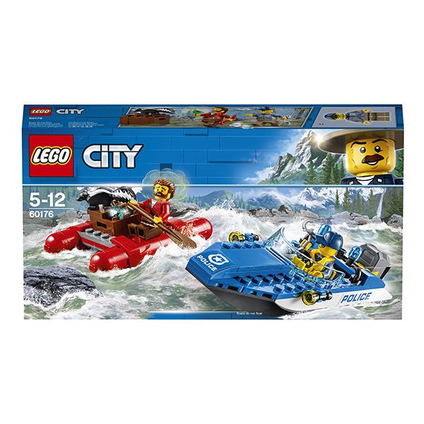 Lego City 60176 Конструктор Лего Город Погоня по горной реке