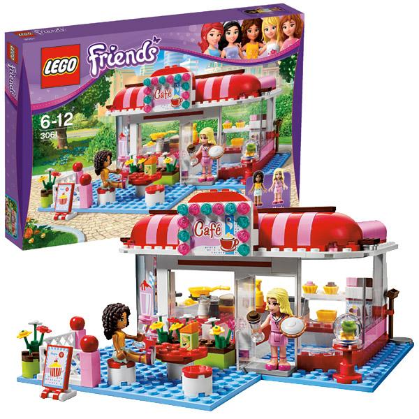 Лего Подружки 3061 Конструктор Кафе в городском парке