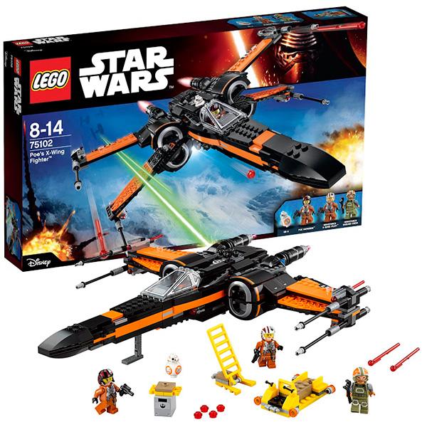 lego lego star wars 75150 лего звездные войны усовершенствованный истребитель сид дарта вейдера Lego Star Wars 75102 Лего Звездные Войны Истребитель По