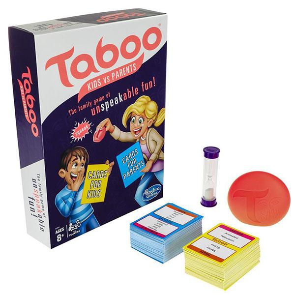 Фото - Hasbro Other Games E4941 Настольная игра ТАБУ Дети против родителей hasbro игра настольная hasbro games скажи если сможешь
