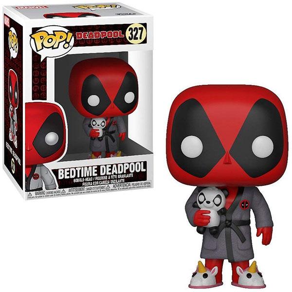 Funko 31118F Фигурка Funko POP! Bobble: Marvel: Deadpool Playtime: Deadpool in Robe 31118