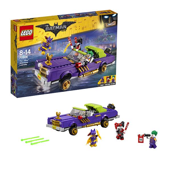 Lego Batman Movie 70906 Конструктор Лего Фильм Бэтмен: Лоурайдер Джокера мужская одежда для спорта