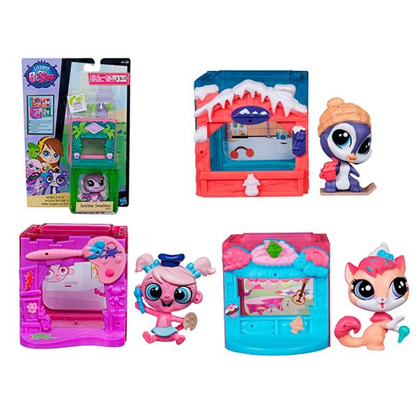 Hasbro Littlest Pet Shop B0092 Литлс Пет Шоп Игровой тематический набор (в ассортименте) игровой набор littlest pet shop литл пет шоп shaken dry salon c0043 c1202