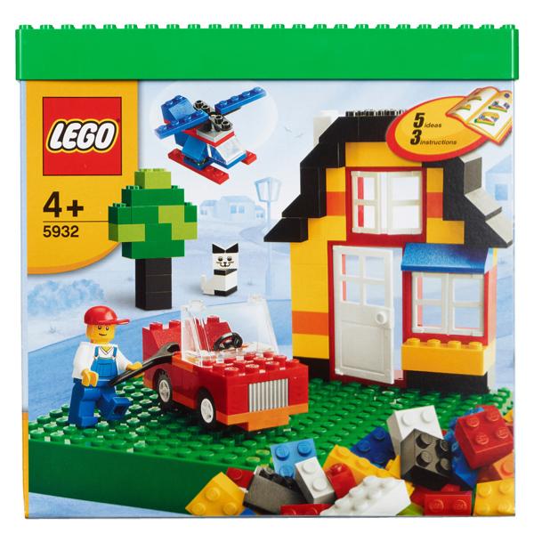 Конструктор Лего Криэйтор 5932 Конструктор Мой первый набор