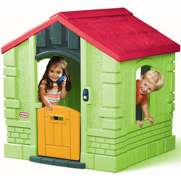 Little Tikes 172601 Литл Тайкс Игровой домик зеленый