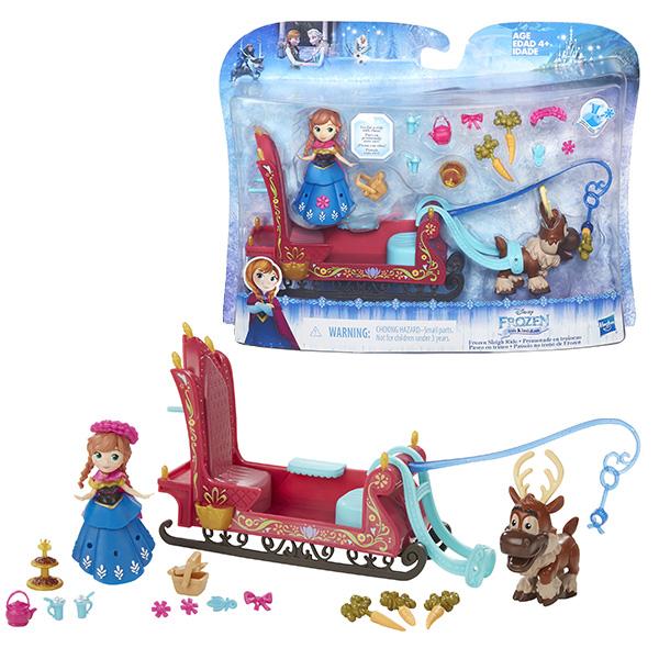 Hasbro Disney Princess B5194 Набор маленькие куклы Холодное сердце (в ассортименте) hasbro disney princess маленькие куклы холодное сердце c1096 анна в голубом
