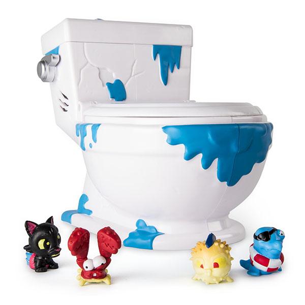 Flush Force 38805 Туалет - коллектор коллекционные фигурки 5 штук flush force 38801