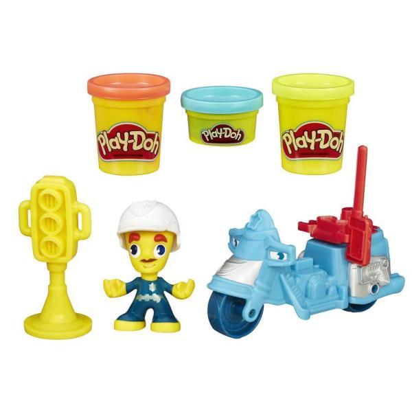 Hasbro Play-Doh B5959 Игровой набор Транспортные средства (в ассортименте) hasbro play doh b5517 игровой набор из 4 баночек в ассортименте обновлённый
