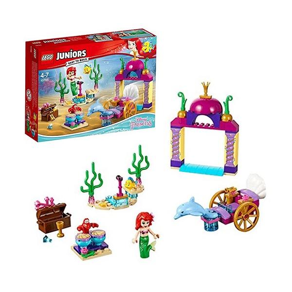 Lego Juniors 10765 Конструктор Лего Джуниорс Подводный концерт Ариэль lego lego disney princesses 41145 лего принцессы ариэль и магическое заклятье