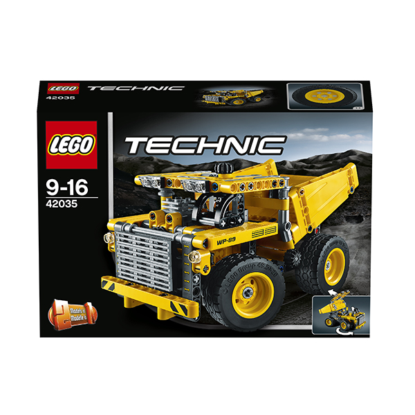 Конструктор Lego Technic 42035 Лего Техник Карьерный грузовик