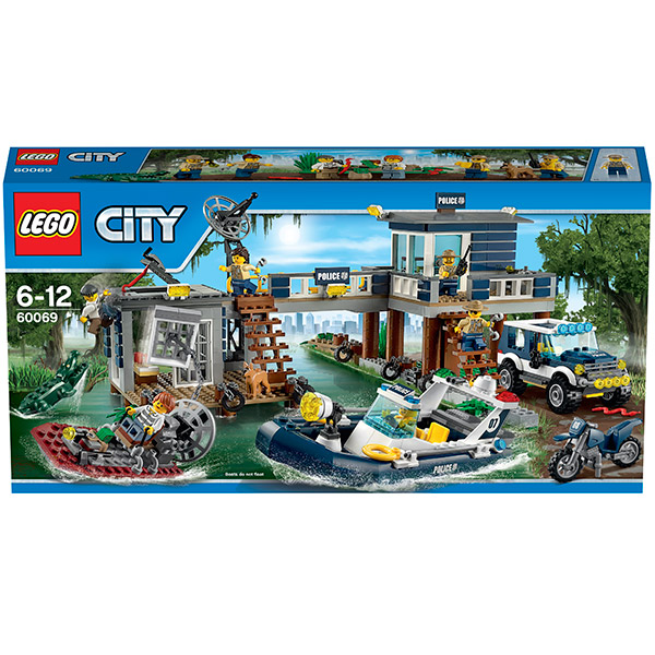 Lego City 60069 Конструктор Лего Город Участок новой лесной полиции