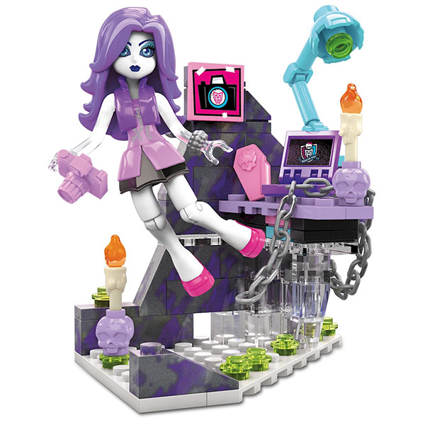 Mattel Mega Bloks DLB79 Мега Блокс Базовые игровые наборы куклы монстер хай дракулаура базовая