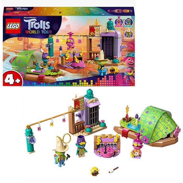 LEGO Trolls 41253 Конструктор ЛЕГО Тролли Приключение на плоту в Кантри-тауне игрушка trolls тролли в закрытой упаковке b6554eu4