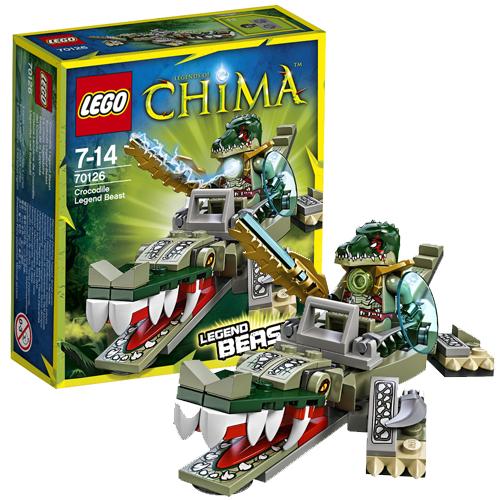 Лего Чима 70126 Конструктор Легендарные Звери: Крокодил