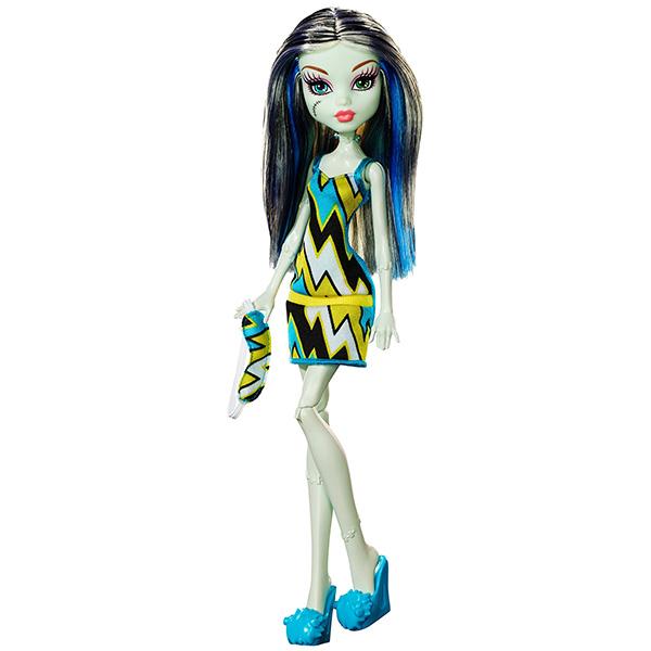 все цены на Mattel Monster High DPC42 Кукла Пижамная вечеринка Фрэнки Штейн