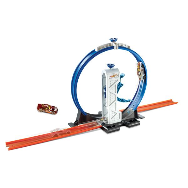 Mattel Hot Wheels DMH51 Хот Вилс Конструктор трасс Loop Launche mattel hot wheels трек с трамплином мега прыжок