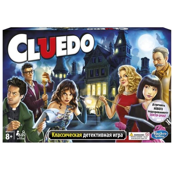 Hasbro Other Games 38712 Настольная игра Клуэдо