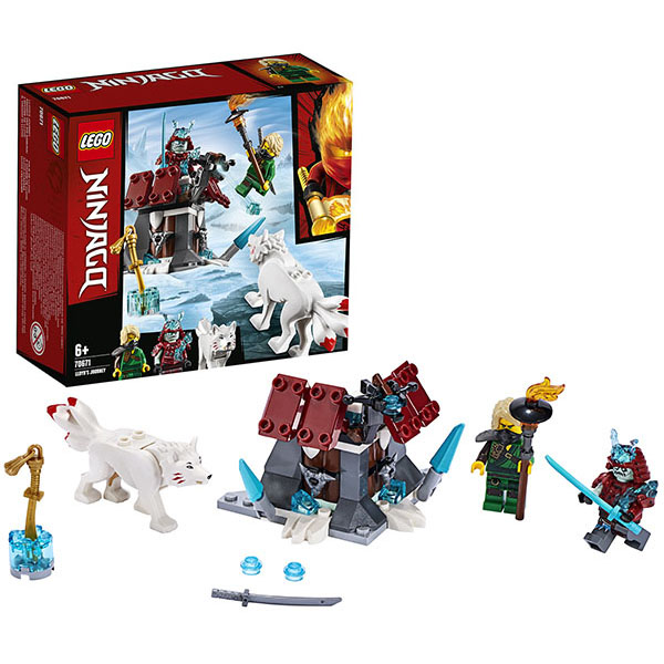 LEGO Ninjago 70671 Конструктор ЛЕГО Ниндзяго Путешествие Ллойда