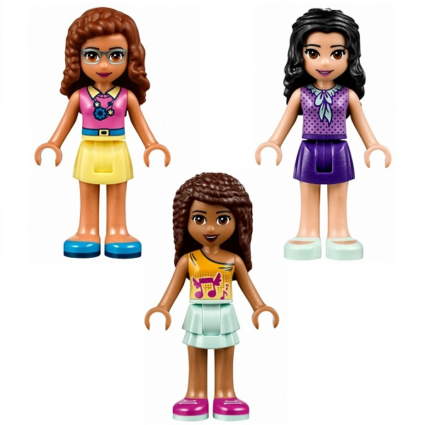 LEGO Friends 41340 Конструктор ЛЕГО Подружки Дом дружбы
