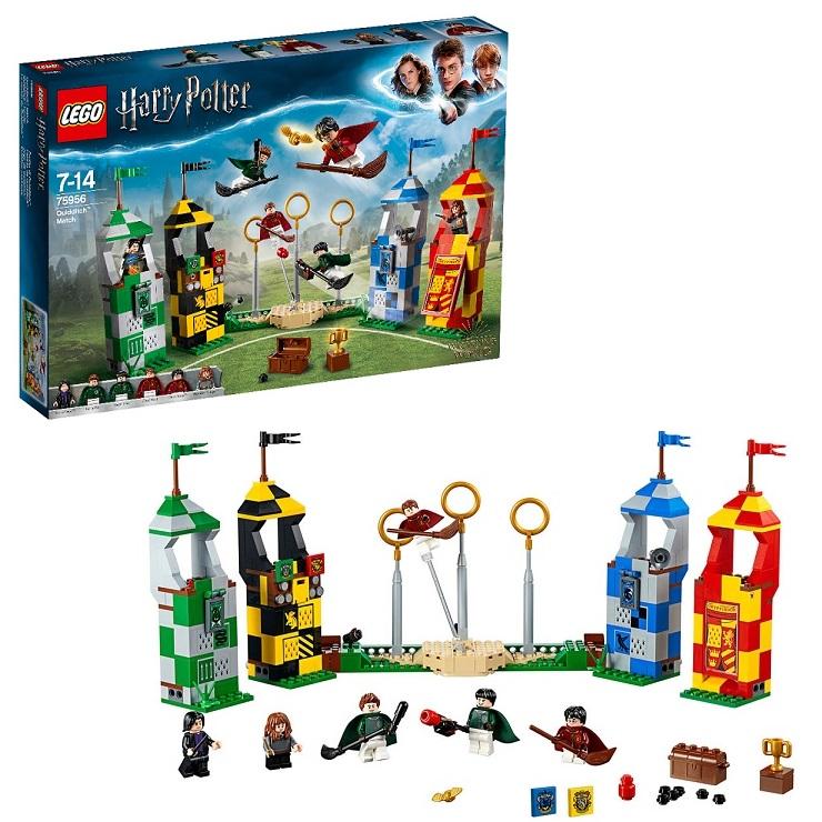 Lego Harry Potter 75956 Конструктор Лего Гарри Поттер Матч по Квиддичу гарри стайлс harry styles harry styles limited edition