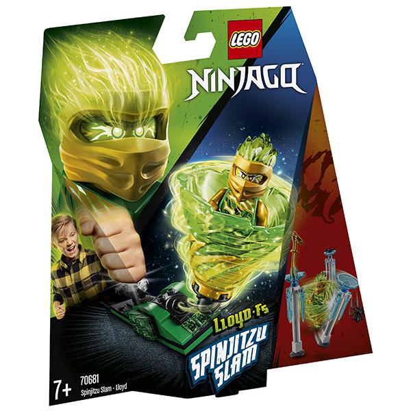 LEGO Ninjago 70681 Конструктор ЛЕГО Ниндзяго Бой мастеров кружитцу - Ллойд