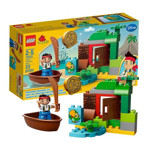 Лего Дупло 10512 Джейк Охота за сокровищами