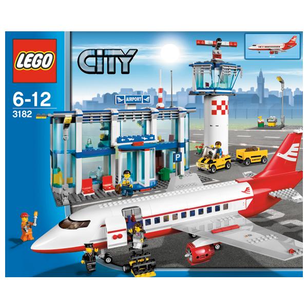 Lego City 3182 Конструктор Лего Город Аэропорт