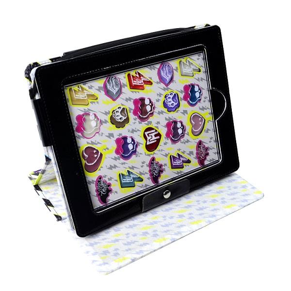 Markwins 9706651 Monster High Игровой набор детской декоративной косметики в чехле для планшета