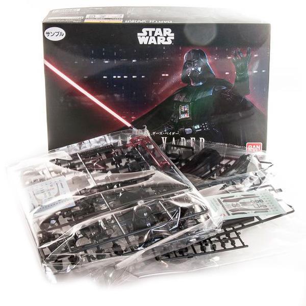 Star Wars Bandai 84612 Звездные Войны Сборная модель Дарт Вейдер 1:12