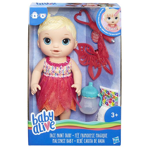 Hasbro Baby Alive B9723 Малышка-фея