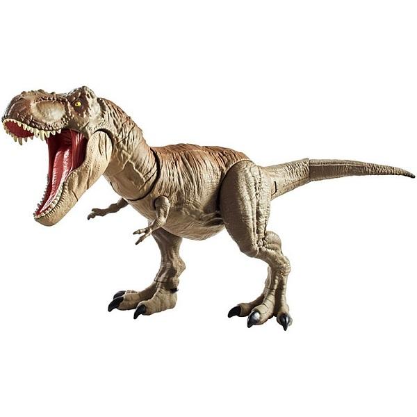 "Mattel Jurassic World GCT91 Ти-Рекс ""Двойной удар"" цены онлайн"