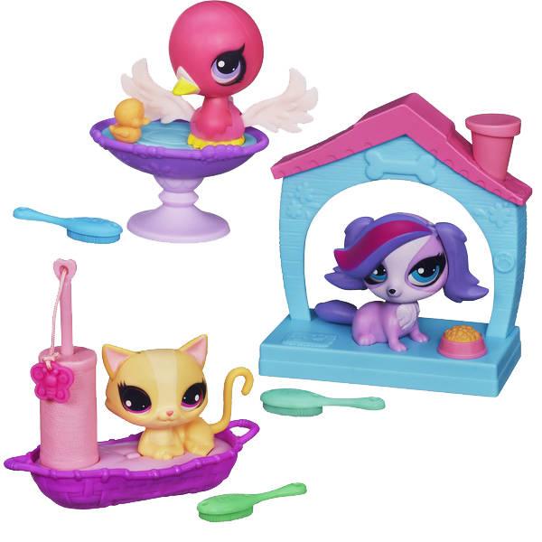 Hasbro Littlest Pet Shop A5127 Литлс Пет Шоп Зверюшки с волшебным механизмом (в ассортименте) игровые наборы littlest pet shop стильный зоомагазин