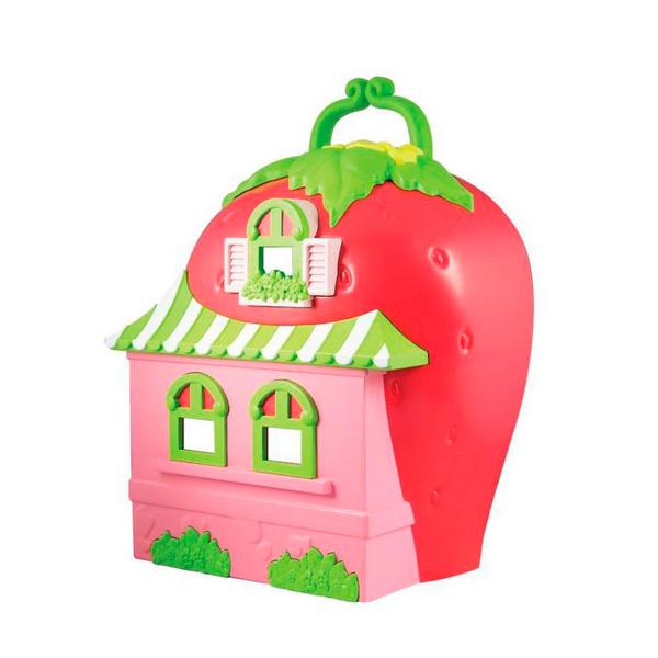 Strawberry Shortcake 12267 Шарлотта Земляничка Набор Кукла 15 см с домом и аксессуарами, коробка