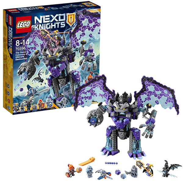 Lego Nexo Knights 70356 Конструктор Лего Нексо Каменный великан-разрушитель lego nexo knights 70351 лего нексо самолёт истребитель сокол клэя