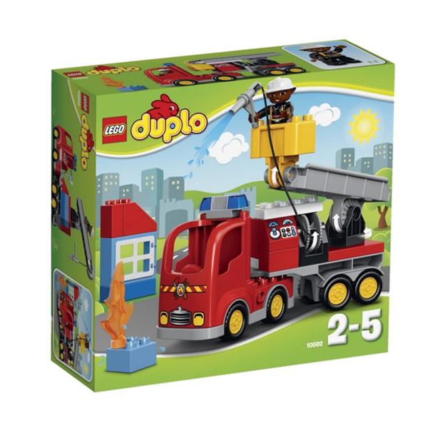 Lego Duplo 10592 Лего Дупло Пожарный грузовик lego duplo 10508 лего дупло большой поезд