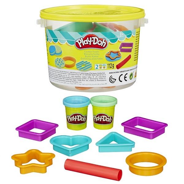 Hasbro Play-Doh B4453 Игровой набор Печенье в ведерочке игровой набор play doh битва халка