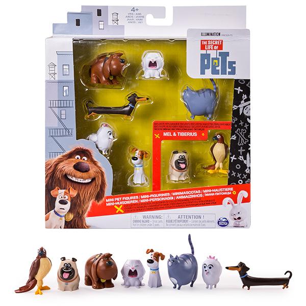 Secret Life of Pets 72807 Тайная жизнь домашних животных Набор из 8 мини-фигурок